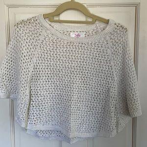 Kids Poncho Sweater